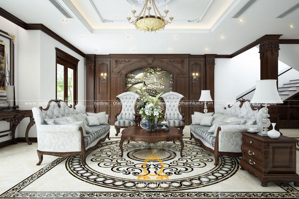 Phòng khách biệt thự đẹp LT21