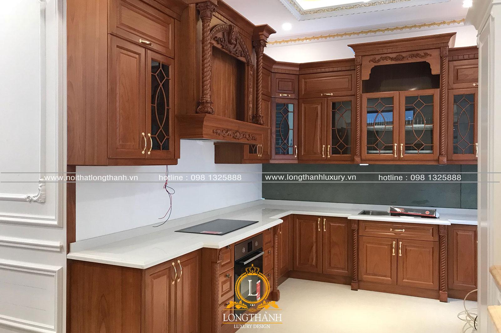 Hình ảnh thi công thực tế nội thất nhà chị Lan – TP Hải Phòng