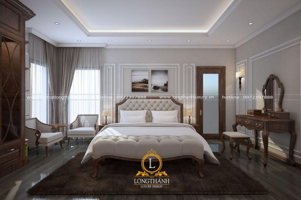 Dự án thiết kế phòng ngủ nhà anh Tú tại Hoàng Mai, Hà Nội