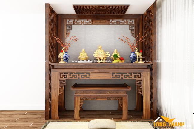 Mẫu bàn thờ đẹp nhất cho nhà chung cư năm 2017