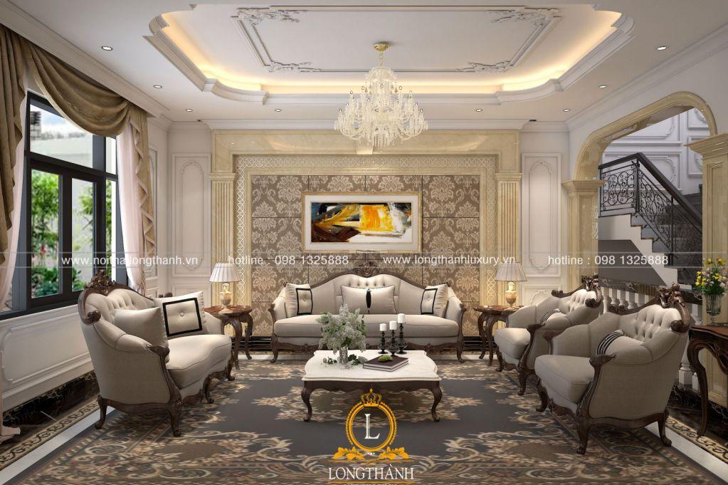 Phòng khách tân cổ điển LT33