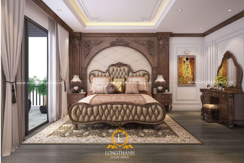 Thiết kế nội thất phòng ngủ theo phong cách tân cổ điển – xu hướng đang được thịnh hành