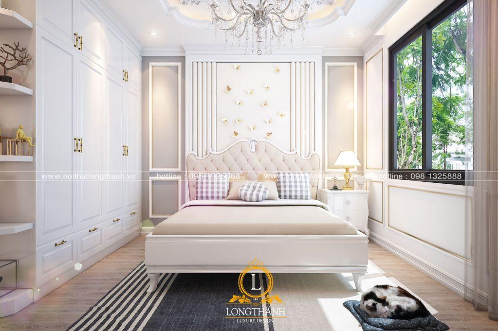 Mẫu thiết kế phòng ngủ tân cổ điển cho năm 2019