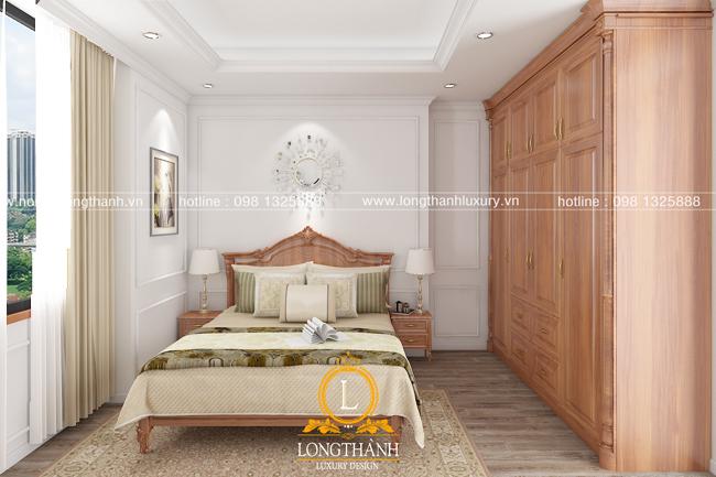 Mẫu phòng ngủ tân cổ điển sang trọng cho năm 2018
