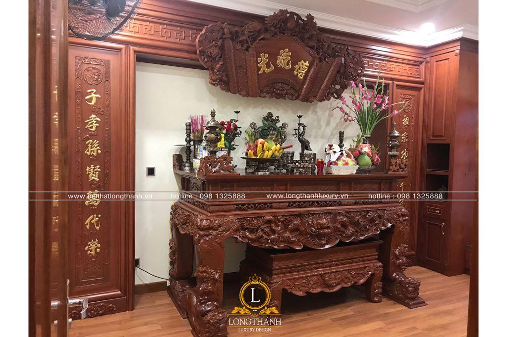 Hình ảnh thi công thực tế nội thất tân cổ điển nhà anh Ninh - Cầu Giấy