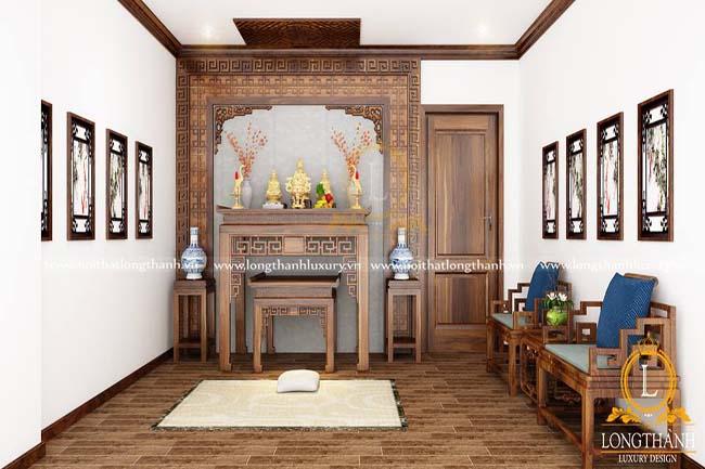 Mẫu phòng thờ đẹp, sang trọng cho nhà rộng  – xu hướng lựa chọn cho năm 2018
