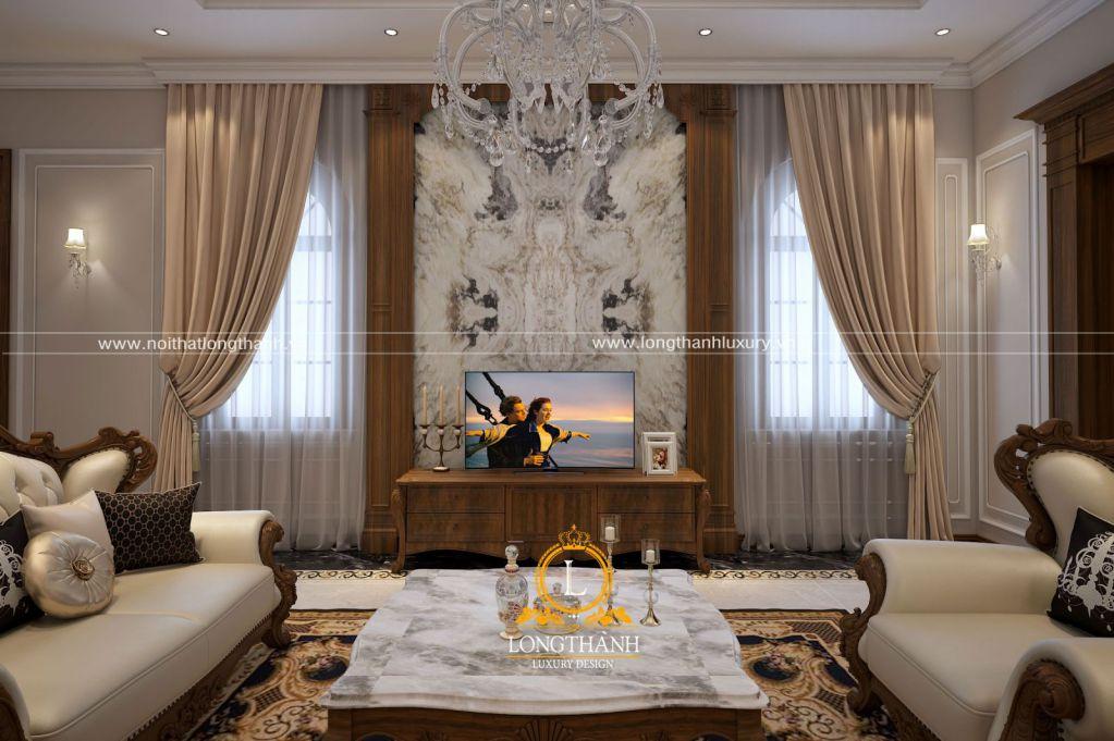 Thiết kế nội thất nhà phố theo phong cách tân cổ điển đẹp
