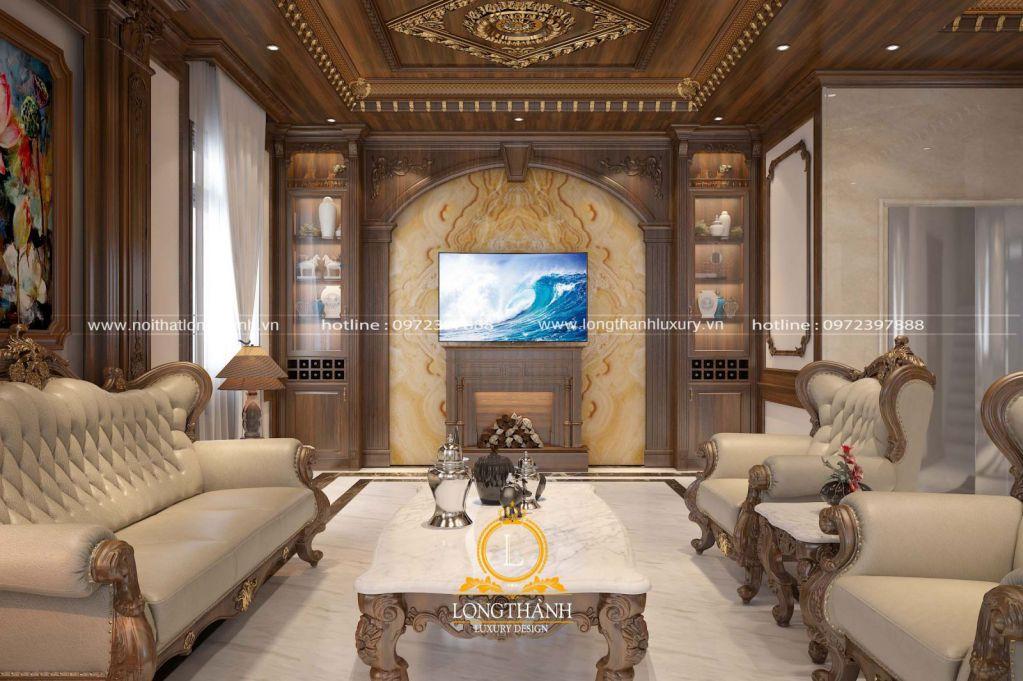 Điểm nổi bật trong phong cách thiết kế nội thất tân cổ điển