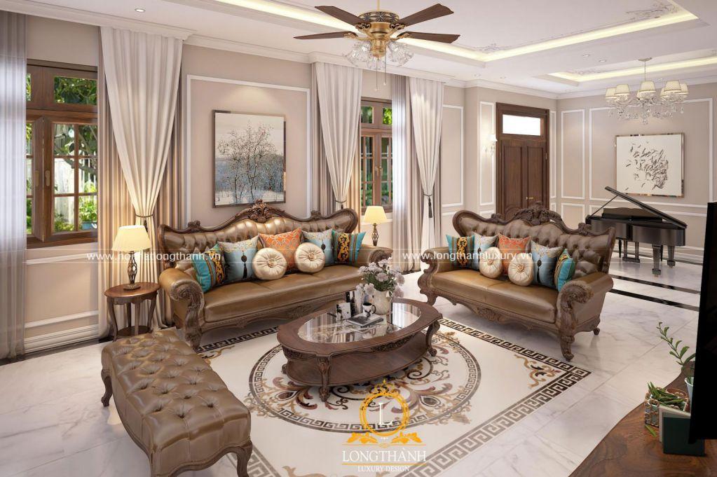 Mê mẩn với thiết kế nội thất nhà phố 2 tầng của Nội Thất Long Thành