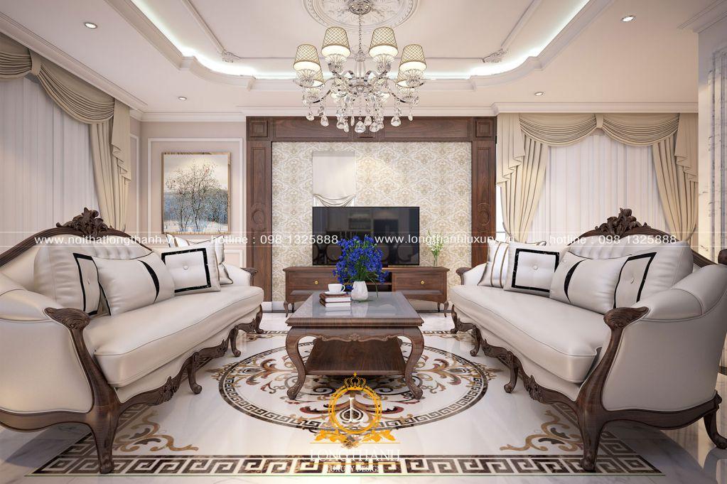 Phòng khách biệt thự đẹp LT23