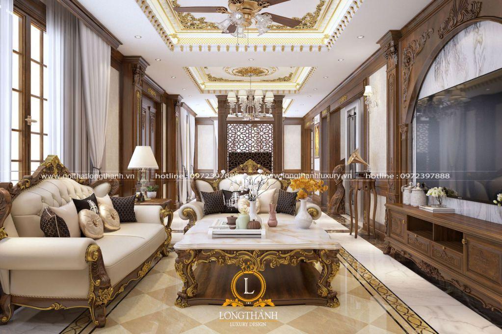 Thiết kế nội thất nhà phố mặt tiền 4m đẹp cuốn hút