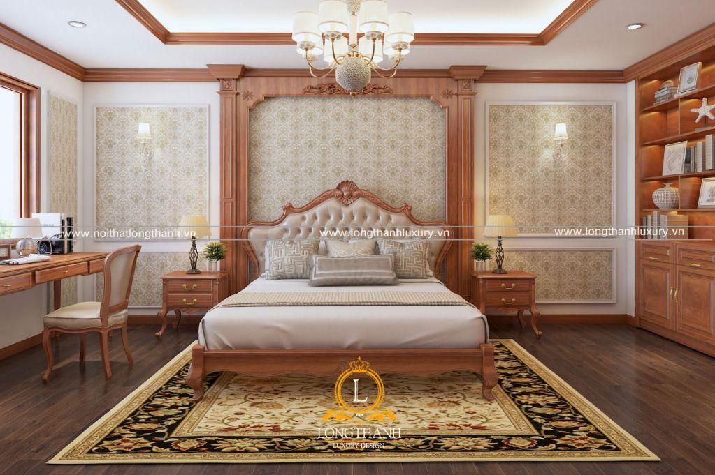 Dự án thiết kế phòng ngủ anh Thái tại TP Sơn La