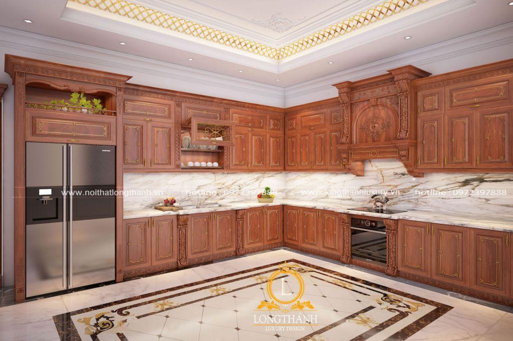 Sẽ ra sao nếu bạn thiết kế tủ bếp tân cổ điển cho gia đình bạn năm 2020