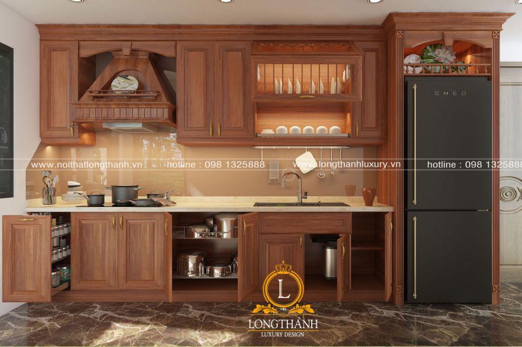 Tủ bếp đẹp cho nhà chung cư LT08