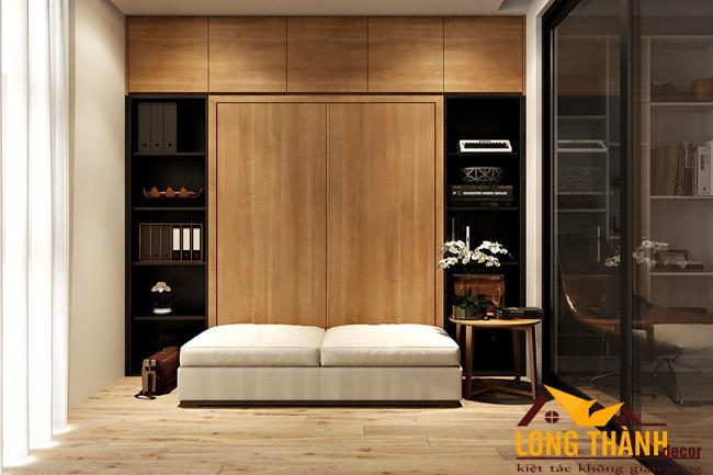 Những mẫu thiết kế tủ quần áo hiện đại trong phòng ngủ