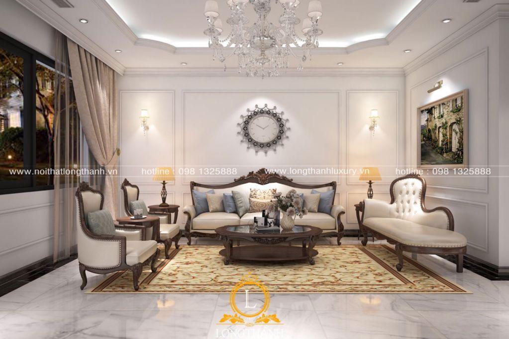 Không quá cầu kỳ, rườm rà với phong cách  thiết kế nội thất tân cổ điển