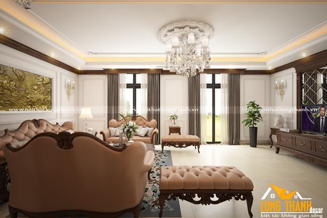 Phòng khách biệt thự đẹp LT14