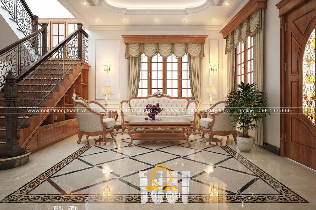 Dự án thiết kế, thi công nội thất biệt thự nhà A Ninh - Cầu Giấy