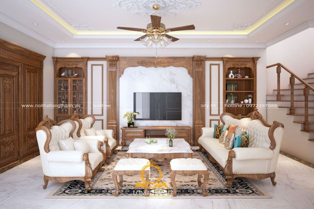 Dự án thiết kế nội thất nhà chị Vân, Thanh Trì, Hà Nội
