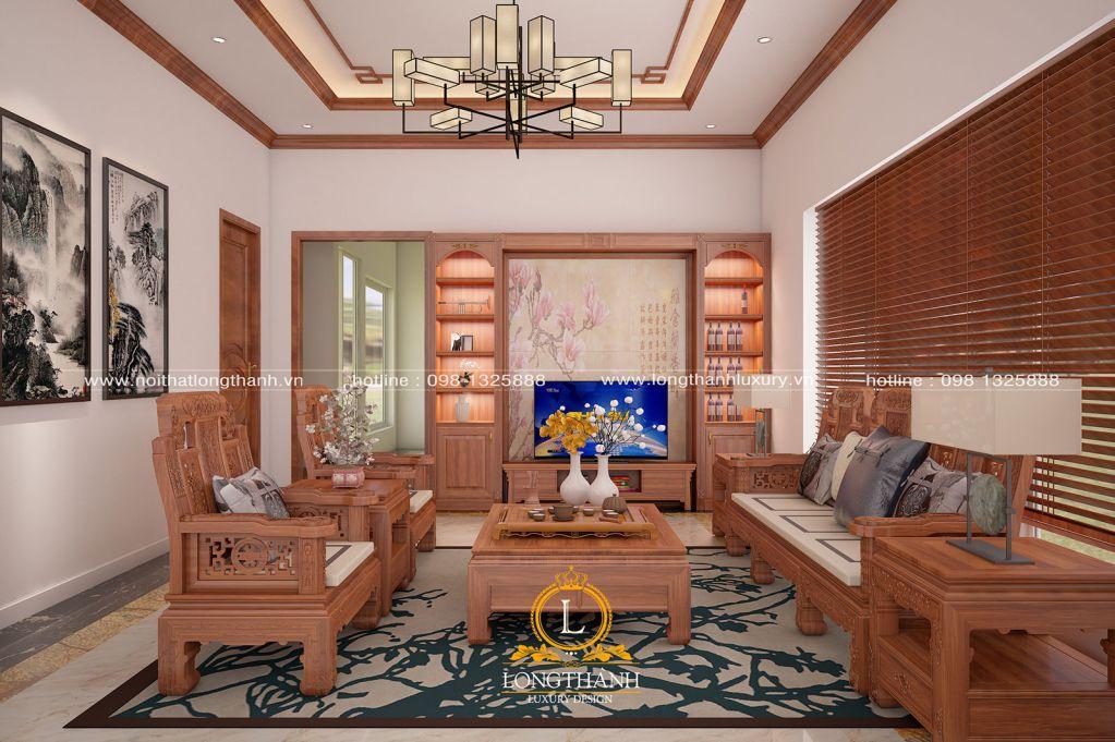 Phòng khách biệt thự đẹp LT24
