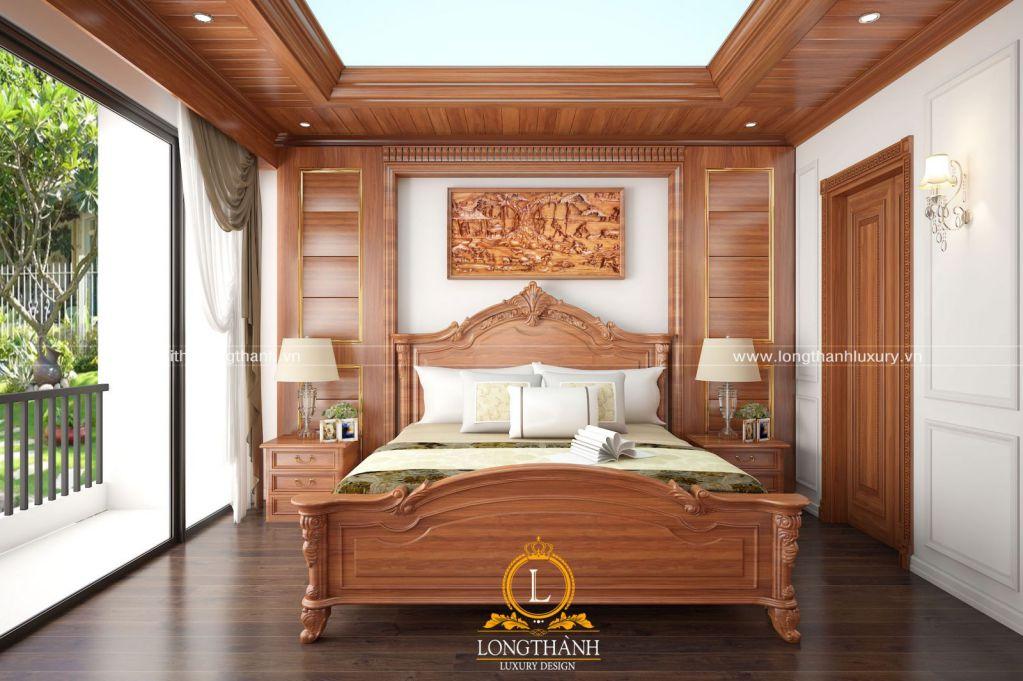 Phòng ngủ tân cổ điển cao cấp năm 2019