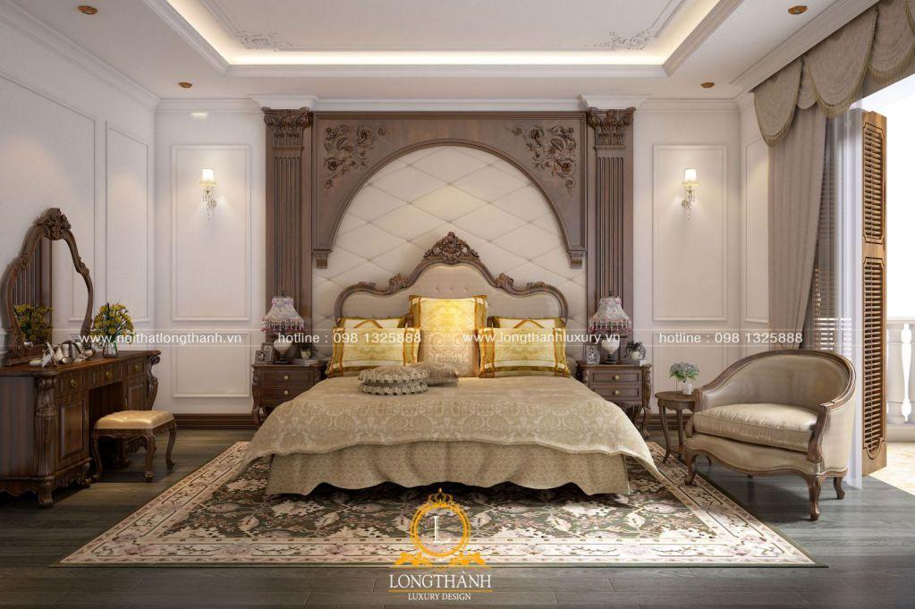 Những mẫu phòng ngủ đẹp thiết kế theo phong cách tân cổ điển năm 2019