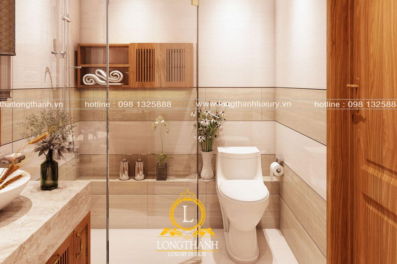 Ý tưởng thiết kế mẫu nhà vệ sinh đơn giản sang trọng