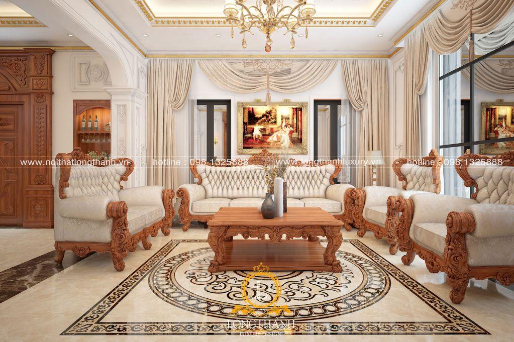 Phòng khách biệt thự đẹp LT19
