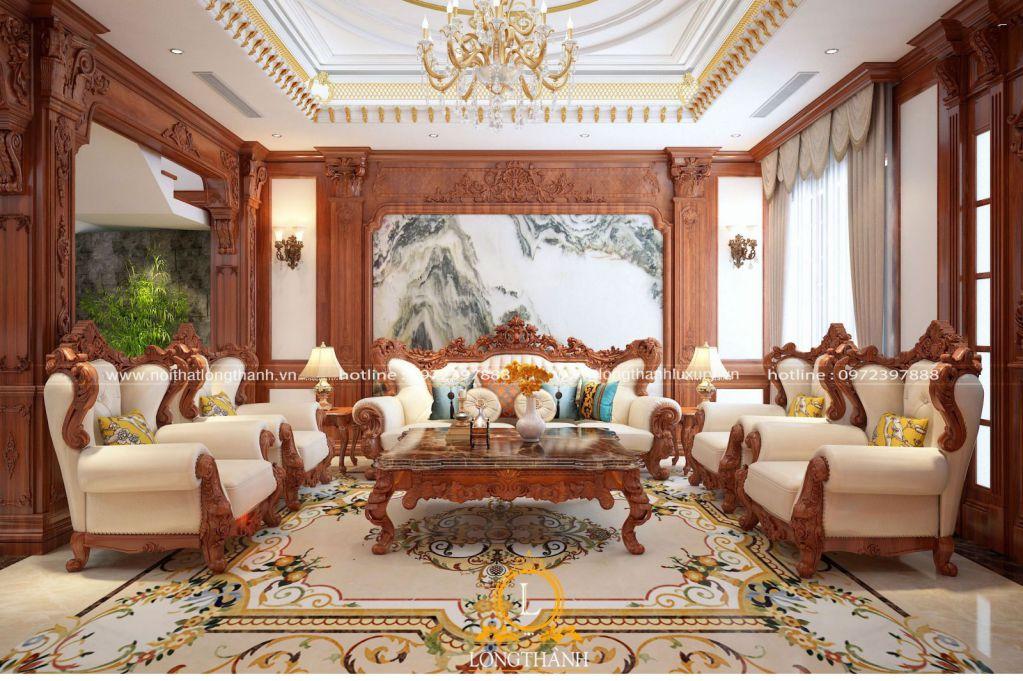 Xu hướng nội thất tân cổ điển dành cho nhà biệt thự và những điều cần lưu ý