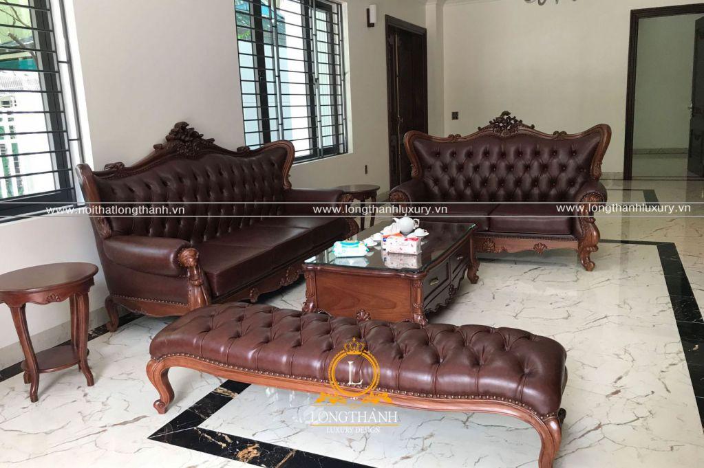 Hình ảnh thực tế hoàn thiện nội thất biệt thự nhà chị Hương, Hòa Bình