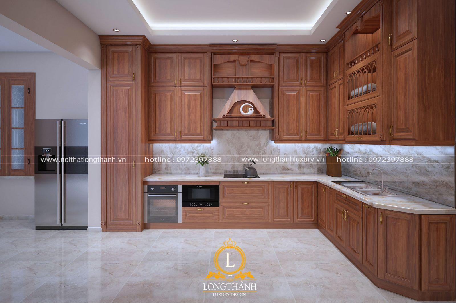 Dự án thiết kế không gian bếp anh Hữu, Văn Giang, Hưng Yên