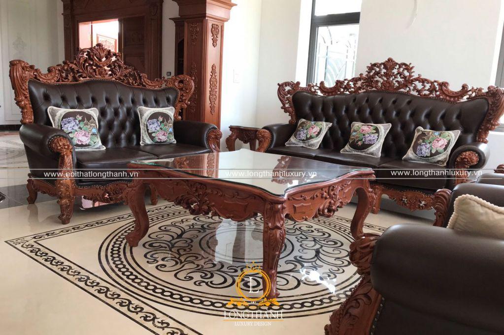 Hình ảnh thi công thực tế nội thất nhà a Liêm Móng Cái - Quảng Ninh