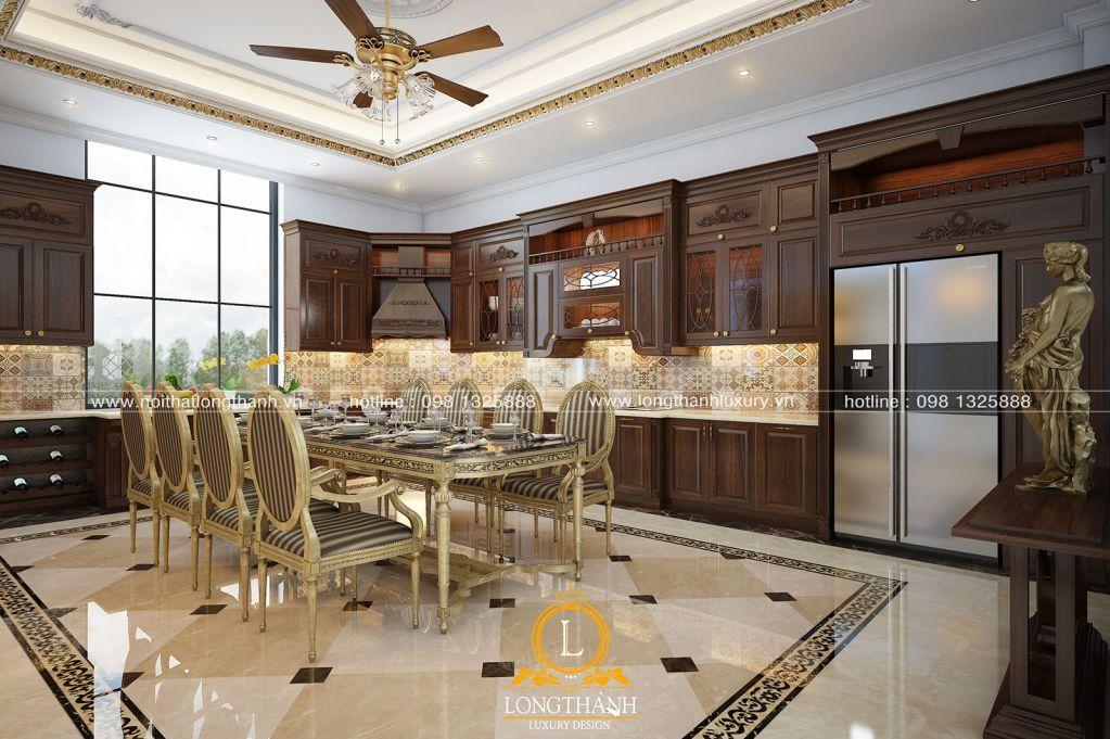 Mẫu thiết kế nội thất tân cổ điển cho nhà chung cư năm 2018