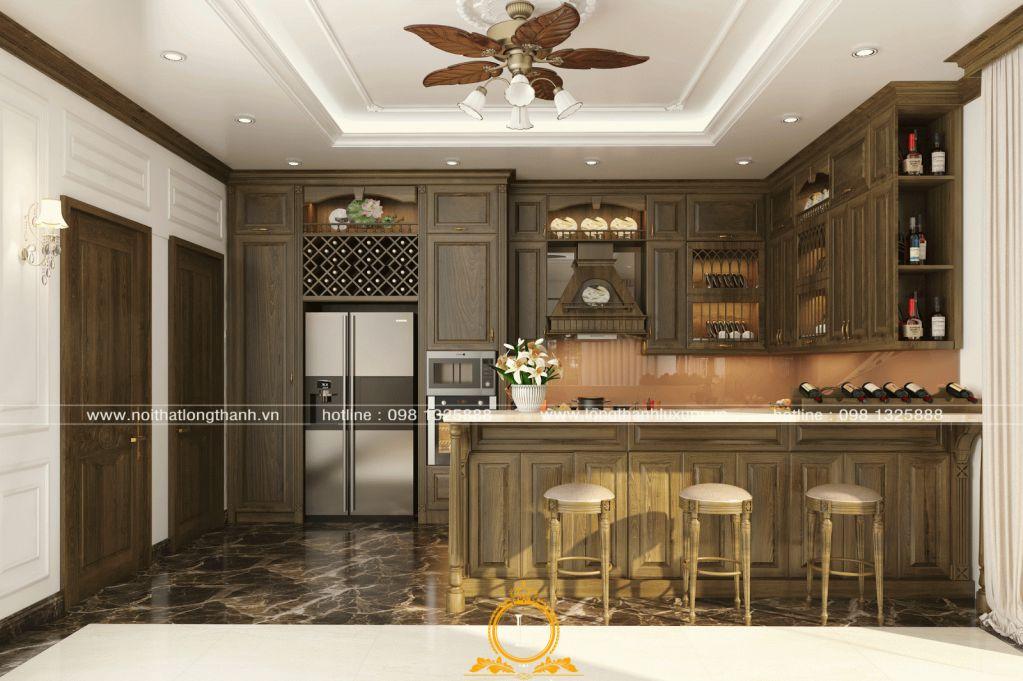 Tủ bếp gỗ Sồi trắng và tủ bếp gỗ Sồi đỏ - loại nào tốt hơn?