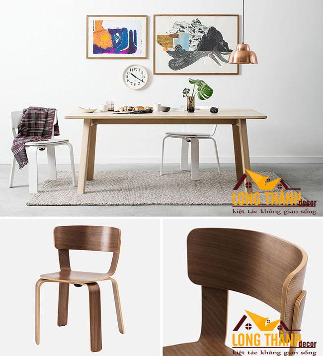 13 mẫu ghế ăn gỗ đẹp sẽ làm khuynh đảo thị trường nội thất năm 2017