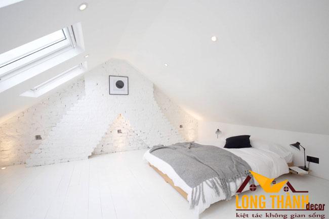 17 phòng ngủ dùng giấy dán tường giả gạch dành cho năm 2017