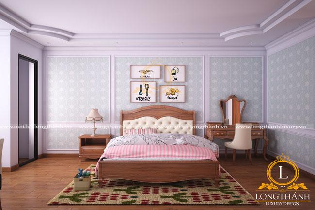 Bạn có muốn sở hữu một không gian phòng ngủ tân cổ điển ?