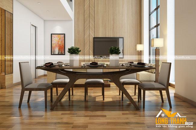 Mẫu bàn ghế ăn đẹp LT18
