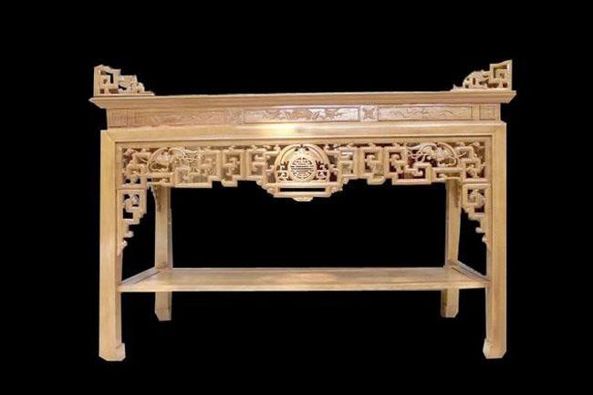 Bền đẹp, chất lượng với bàn thờ gỗ gụ