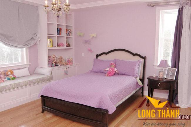 Các mẫu phòng ngủ đẹp dành cho bé gái