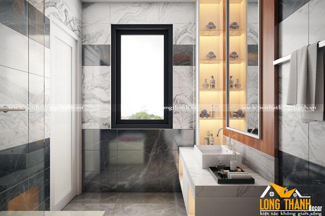 Các mẫu phòng tắm cho nhà biệt thự đẹp