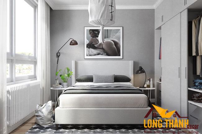 Cùng chiêm ngưỡng nội thất phòng ngủ hiện đại màu trắng