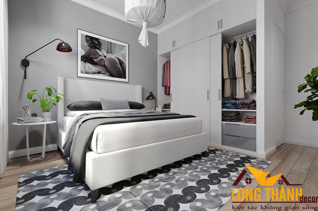 Cùng chiêm ngưỡng phòng ngủ màu trắng