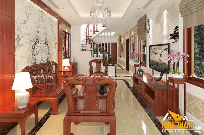 Đơn vị nào thiết kế nội thất tân cổ điển đẹp ở Hà Nội