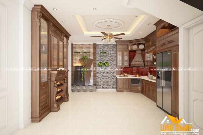 Dự án thi công nội thất phòng bếp nhà anh Toàn Nguyễn Lương Bằng