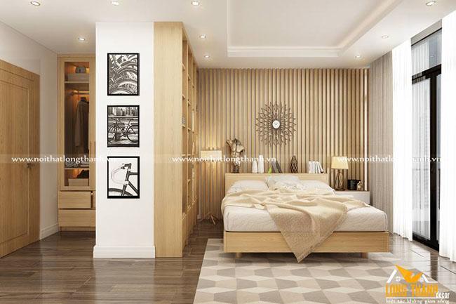 Dự án thiết kế phòng bếp, phòng ngủ master, phòng ngủ con gia đình anh Đường Gorld Mark City