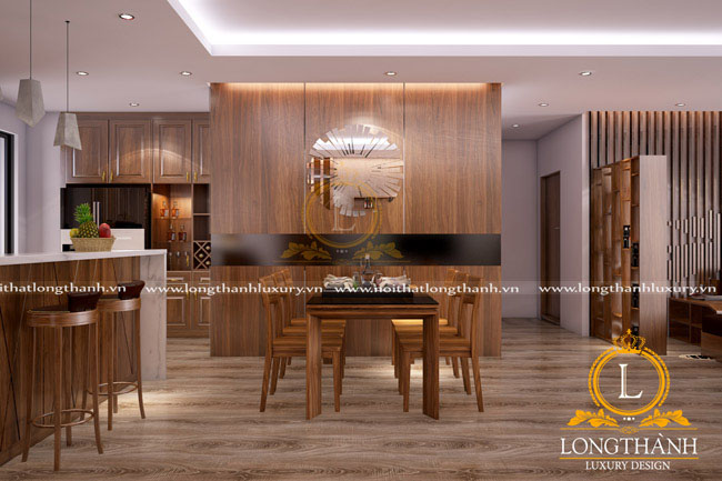 Dự án thiết kế sản xuất nội thất cho gia đình chú Tấn căn 01 tầng 21 N01 – Chung cư Ngoại Giao Đoàn Hà Nội
