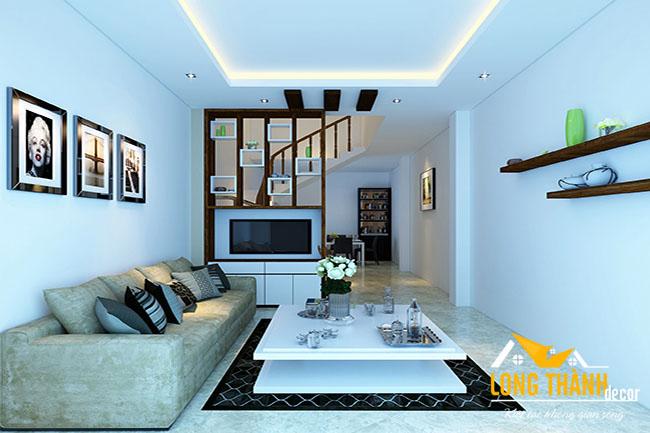 Dự án thiết kế, sản xuất nội thất nhà mặt đất cho nhà anh Huy - Đại Từ, Hà Nội