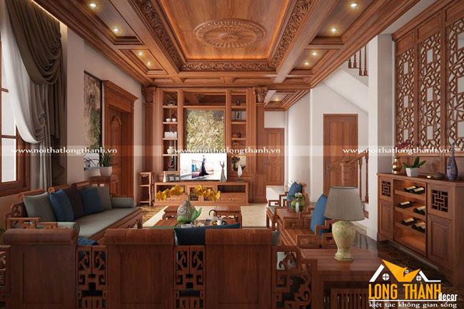 Dự án thiết kế thi công nội thất cho biệt thự nhà anh Tráng – Thành phố Bắc Ninh