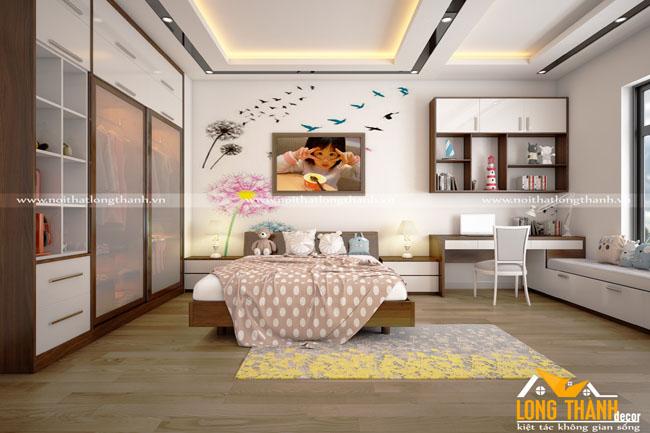 Dự án thiết kế thi công nội thất nhà chị Tú Anh – Thành phố Bắc Giang